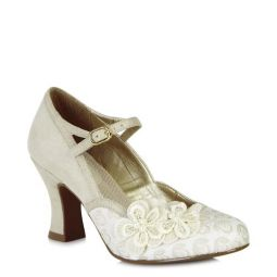 Amelia (Cream) Mary Janes