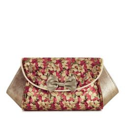 Palma Gold Clutch Bag