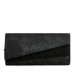 Oxford (Black) Clutch Bag