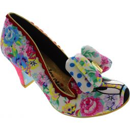 Irregular Choice Disney Floral Minnie Court Shoes