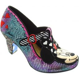 Irregular Choice Disney Heart Minnie Court Shoes