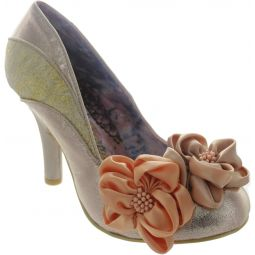 Peach Melba Court Shoes