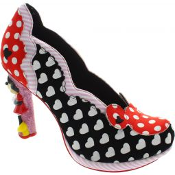 Irregular Choice Disney Minnie Mouse Court Shoes