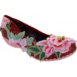 Irregular Choice Twist & Shout Ballerinas