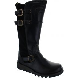 Sher Knee High Boots