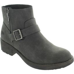 Thyme Eagle PU Ankle Boots