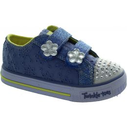 Skechers Twinkle Toes Shuffle Casual Trainers