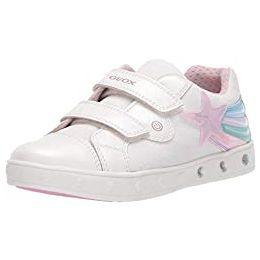 Geox J Skylin Girl C Touch Fastening Trainers