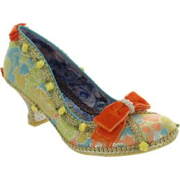 Bish Bash Bow Court Shoes