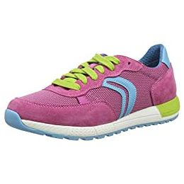 Geox J Alben Girl B Lace Up Trainers