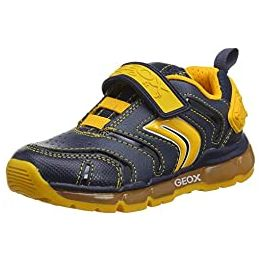 Geox J Android Boy B Touch Fastening Trainers