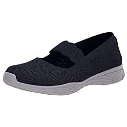 Skechers Seager - Power Hitter Engineered Knit Mary Jane Shoes