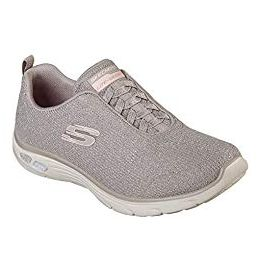 Skechers Empire D'Lux - Burn Bright Bungee Slip On Air Cooled Memory Foam Shoes