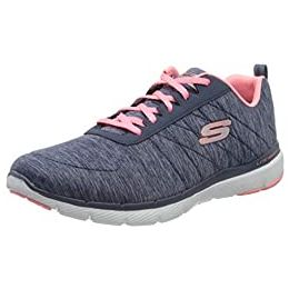 Skechers Flex Appeal 3.0 - Insiders Lace Up Air Cooled Memory Foam Shoes