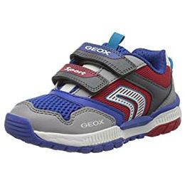 Geox J Tuono Boy A Touch Fastening Trainers