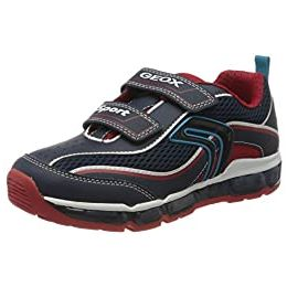 Geox J Android Boy C Touch Fastening Trainers