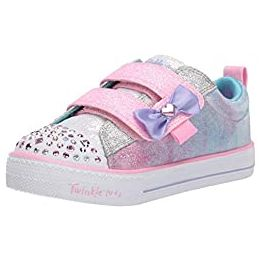 Skechers Shuffle Lites Sweet Supply Childrens Sports Trainers