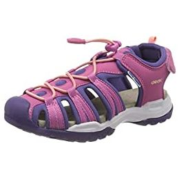 Geox J Borealis Girl B Lace Up Sandals