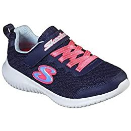 Skechers Ultra Flex Embossed Mesh Touch Fastening Strap Trainers