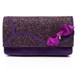 Kanjanka (Purple) Clutch Bag