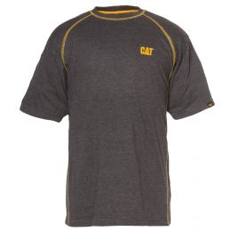 Caterpillar Heather Performance Shorts Sleeve T-Shirts