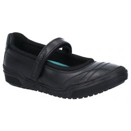 Hush Puppies Amelia Snr Touch Fastening School Shoes