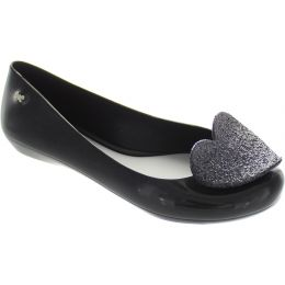 Pop Heart Luxe Ballerinas
